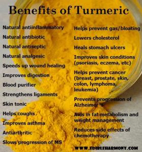 Benefits of TumericPhoto